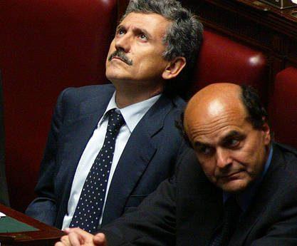 """Bersani silura D'Alema: """"Non gli chiederò di ricandidarsi""""!!"""