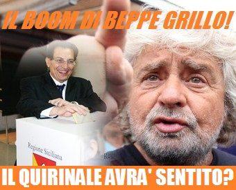 Oltre un siciliano su due ha disertato le urne. Boom di Grillo!