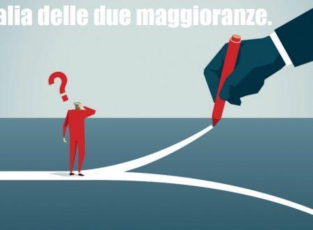 L'Italia delle due maggioranze.