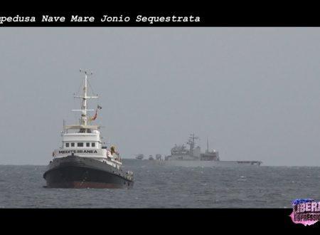 Lampedusa: nave Mare Jonio Sequestrata.