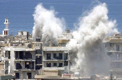 La polveriera del Libano.