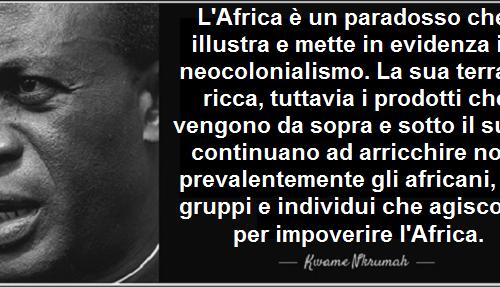 L'Africa neo-colonizzata, Emanuel Macron e Alex Zanotelli. di Francesco Cecchini