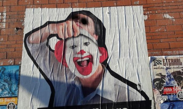 Faccia da clown. di Marina Serafini