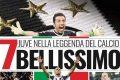 Juventus campione d'Italia, 7° scudetto consecutivo.