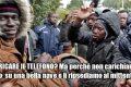 Migranti protestano perchè lo Stato non gli carica il telefono!