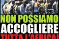 Salvini: Europa solerte nel bacchettare l'Italia, ma assente nell'accogliere i migranti!