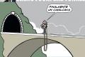 Spot elettorale di Padoan: Siamo fuori dal tunnel!