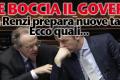 La Ue boccia il governo e Renzi prepara nuove tasse!