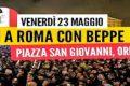Tutti in Piazza San Giovanni a Roma!