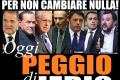 Politica italiana: poche idee e tanto gossip.