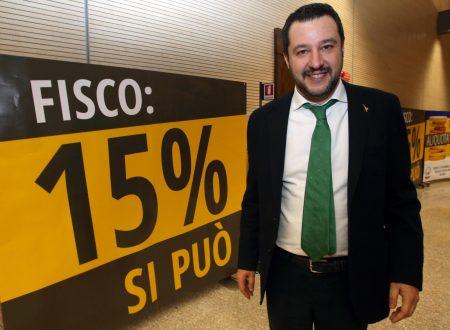 Salvini adesso 'pretende' la flat tax.