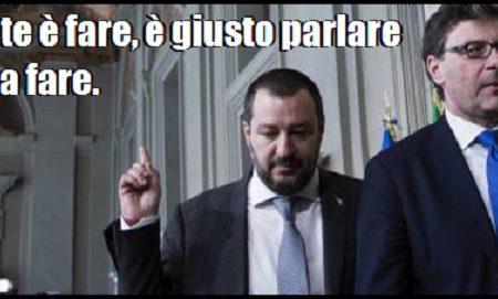 """Salvini: """"La flat tax non è un obiettivo della Lega, è un diritto degli italiani""""."""