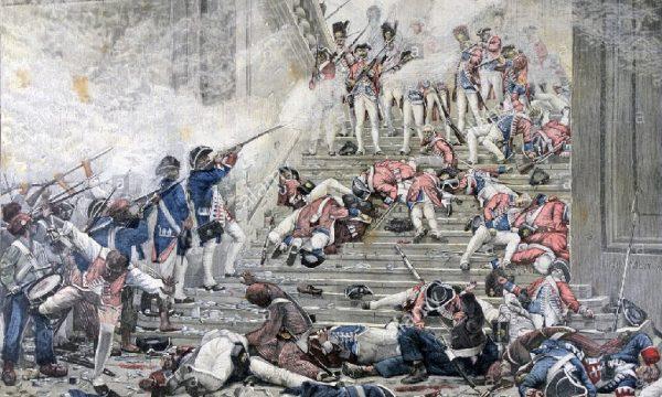 L'estate francese del 1792 e la caduta della Monarchia. di Salvatore Falzone