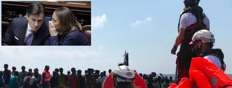 Record del Conte bis: sbarcati 300 immigrati in tre giorni. In Libia hanno capito che adesso si può sbarcare con maggiore facilità…