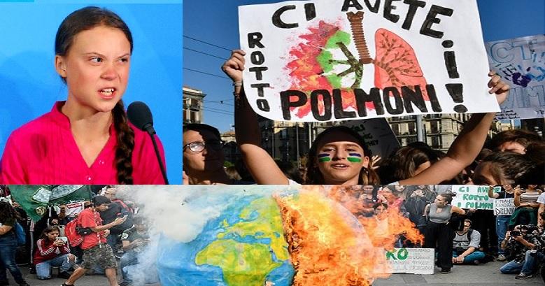 Clima, l'89% degli italiani pensa che sia un'emergenza, ma non s'impegna in prima persona e pretende soluzioni dal governo di turno!