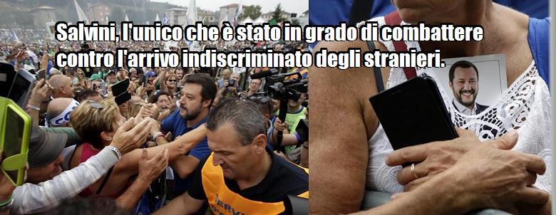 """Feltri contro M5s-Pd: """"Così l'Italia finirà schiava di africani e musulmani""""."""