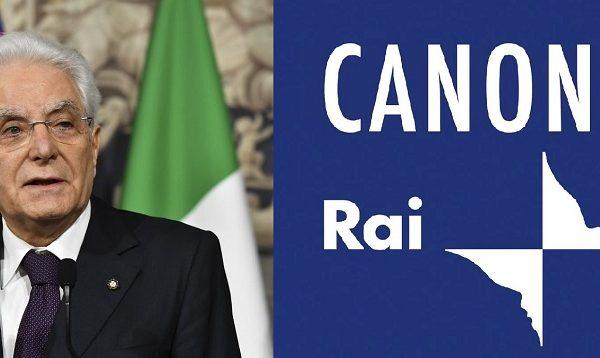 Canone Rai, cartelle pazze. Lettera al Presidente Mattarella. di Piero Tucceri