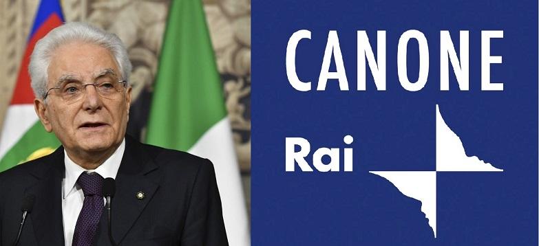 Canone Rai, cartelle pazze. Lettera al Presidente Mattarella.