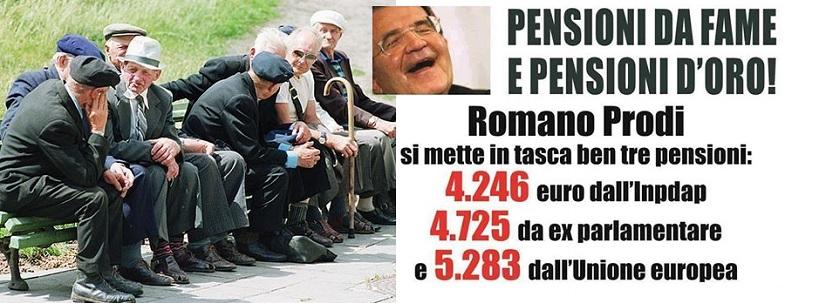 """Manovra. Pensioni aumentate di 50 centesimi. Dire """"ridicolo"""" è dire poco!"""