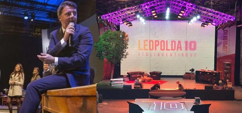 """Renzi: """"Racconteremo il futuro perché vogliamo costruirlo, non solo aspettarlo. E il titolo di questa Leopolda èITALIA 2029""""."""