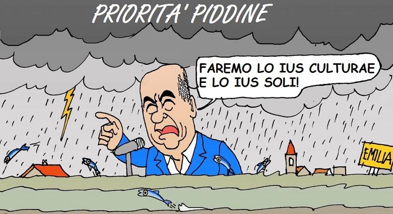 Il Pd rilancia lo 'Ius soli/culturae', invece di dare soluzioni ai problemi degli italiani.
