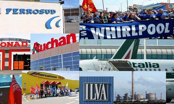 Ilva, Ferrosud, Auchan-Conad, Alitalia: chi più ne ha più ne metta. di Gerardo Lisco