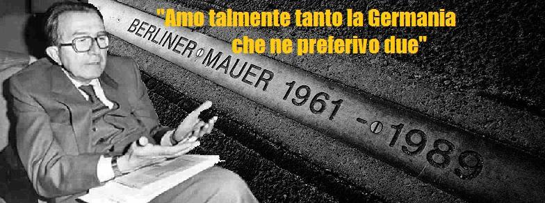 """Calderoli: """"La Germania ci impone i clandestini, ma sbarra le sue porte""""."""