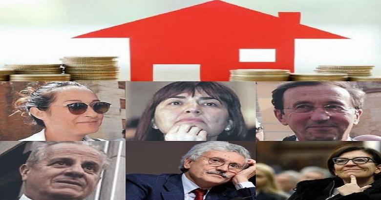 """È bipartisan il vizietto di """"occupare"""" gli alloggi degli enti pubblici pagando quattro soldi di pigione!"""