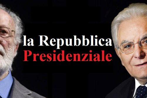 All'Italia serve una Repubblica Presidenziale. di Michele Ricciardi
