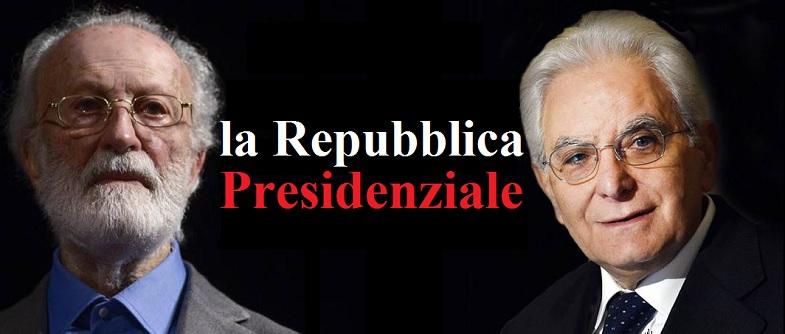 All'Italia serve una Repubblica Presidenziale.