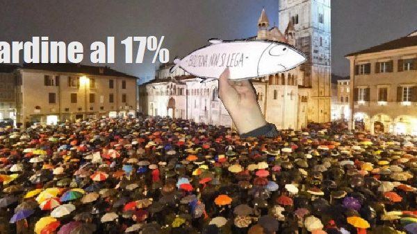 Le sardine sono tante: i sondaggi le danno al 17%! di Antonello Laiso