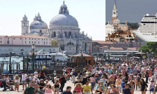 Cara Venezia, ti hanno trasformato in un grande 'Luna Park' turistico. di Yvan Rettore