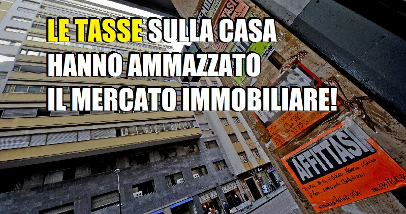 Giuricin: Dal 2011 gli italiani hanno visto una diminuzione del prezzo delle case di circa il 25%, ma la tassazione è rimasta la stessa!