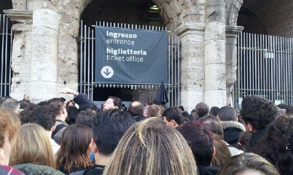 Colosseo: dal 1 gennaio cambia il sistema ticketing.