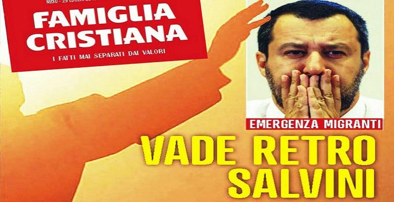 Tutti ossessionati da Salvini, anche la chiesa bergogliana è entrata a far parte del partito del livore e della demonizzazione. di Antonio Socci