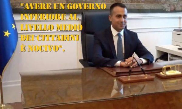"""Dimissioni Di Maio, Feltri: """"Il dilettante molli anche gli Esteri""""."""