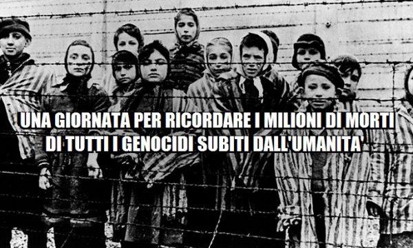 """La """"Giornata di tutti i genocidi umani"""". di Yvan Rettore"""