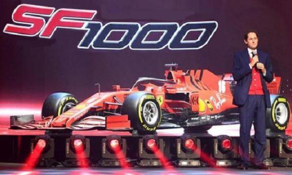 F1, Ferrari svela la nuova monoposto SF1000.