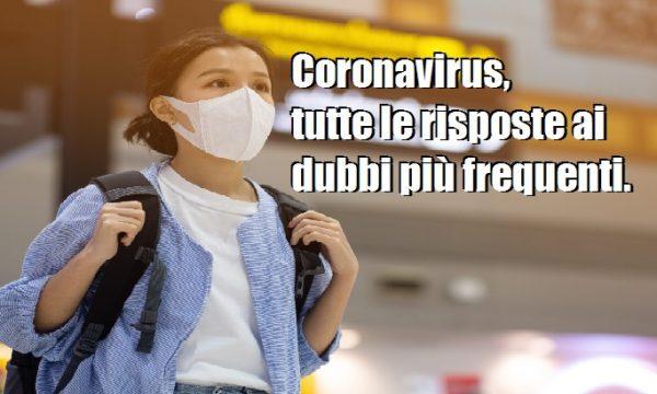 Coronavirus. L'Istituto Superiore di Sanità risponde alle domande più frequenti.