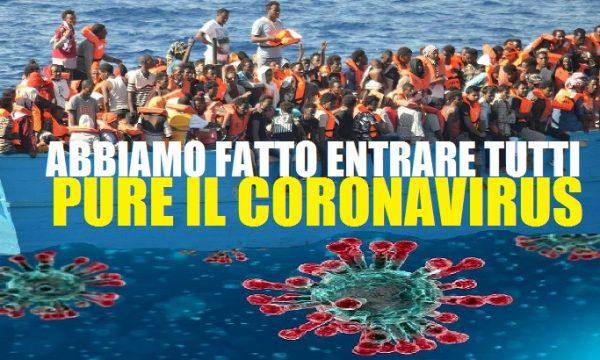 Abbiamo fatto entrare tutti, anche il coronavirus. di Vittorio Feltri