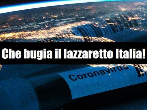 Coronavirus, un gioco al massacro sul buon nome dell'Italia e poi ci meravigliamo se tutti ci trattano come appestati? di Gaetano Pedullà 0 (0)