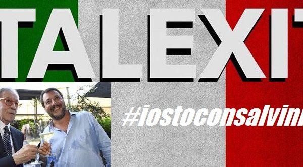 ITALEXIT. Io sto con Salvini: anche l'Italia avrebbe le risorse umane e materiali per agire in autonomia. di Vittorio Feltri