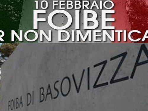 Giorno del ricordo: i massacri delle foibe. di Attilio Runello