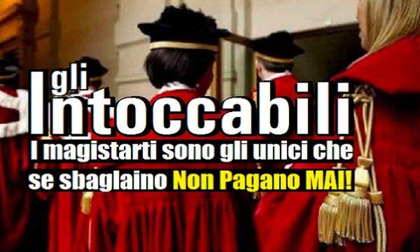 """Vittorio Feltri: """"I magistrati sono gli unici che se sbagliano non pagano""""."""