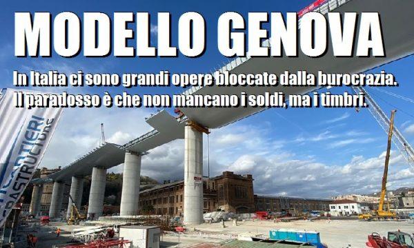 Modello Genova. Un ponte che scavalca la burocrazia. di Alessandro Sallusti