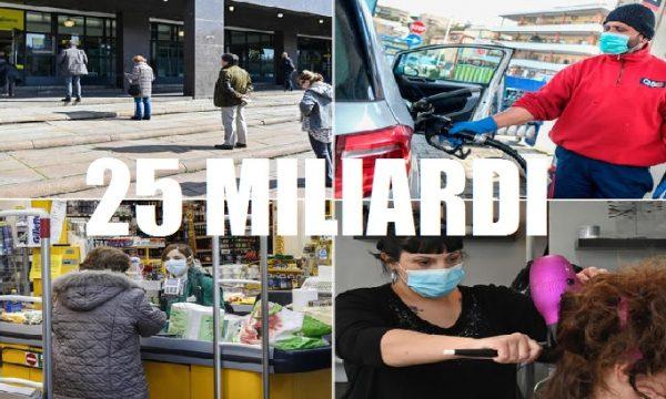 Il Governo stanzia 25 miliardi per l'emergenza Coronavirus.