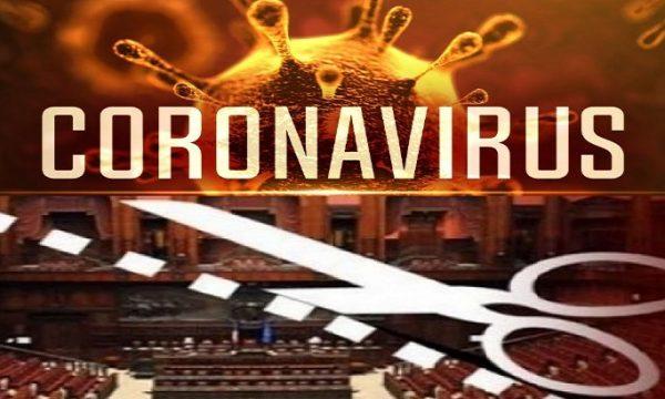 Coronavirus e taglio dei parlamentari.