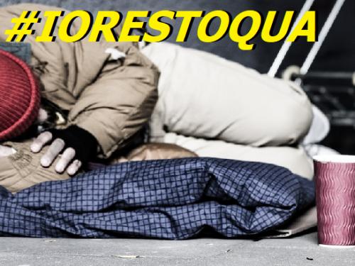 #IORESTACASA. Ma come può restare a casa chi una casa non c'è l'ha? di Clemente Luciano 0 (0)
