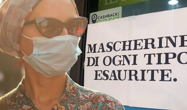 Coronavirus. Mascherine introvabili!
