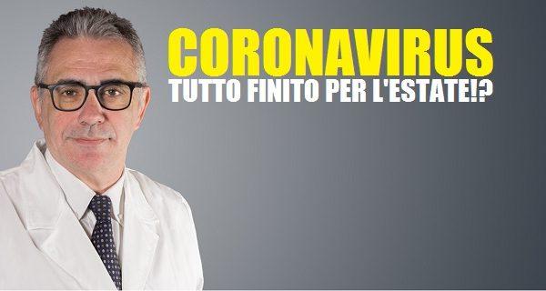 """Il """"picco"""" del Coronavirus a fine marzo. La fine del problema tra maggio e giugno!?"""